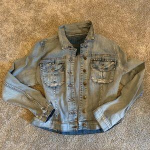 Kut from the Kloth Amelia Denim Jacket - XL